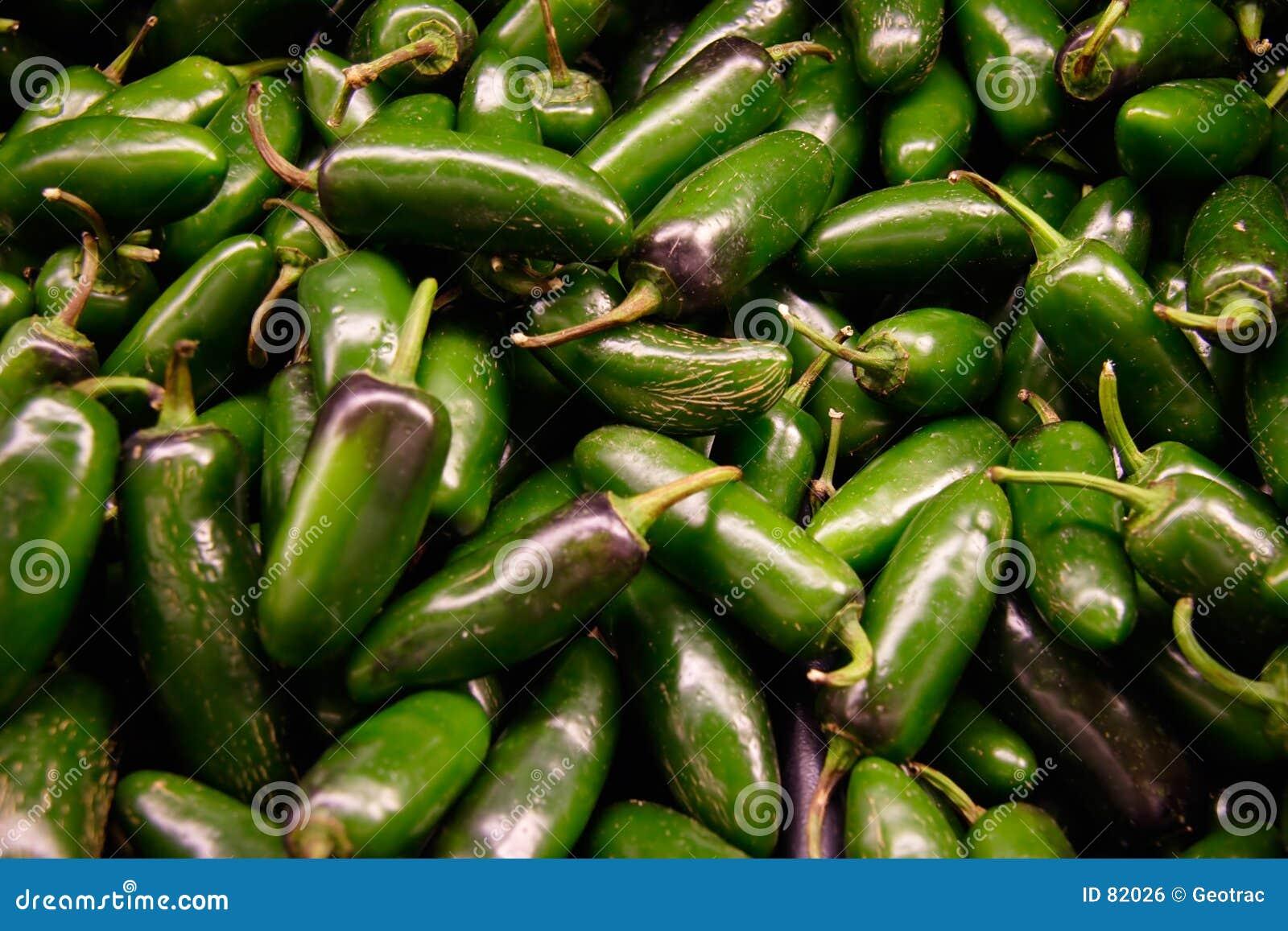 绿色jalopeno胡椒