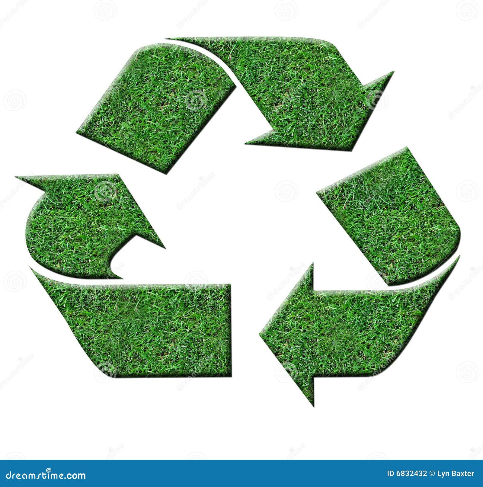绿色recyle符号