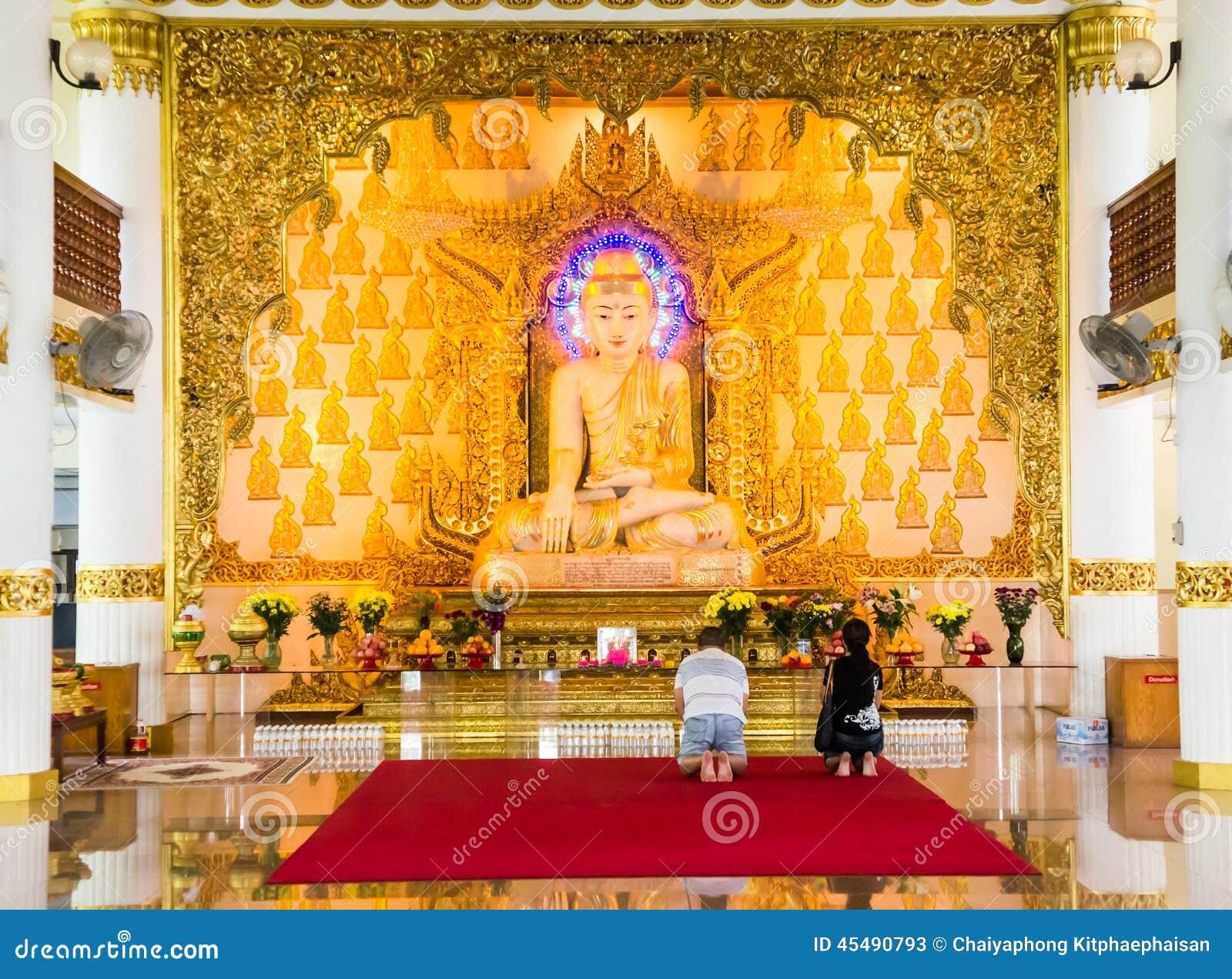 缅甸寺庙,新加坡