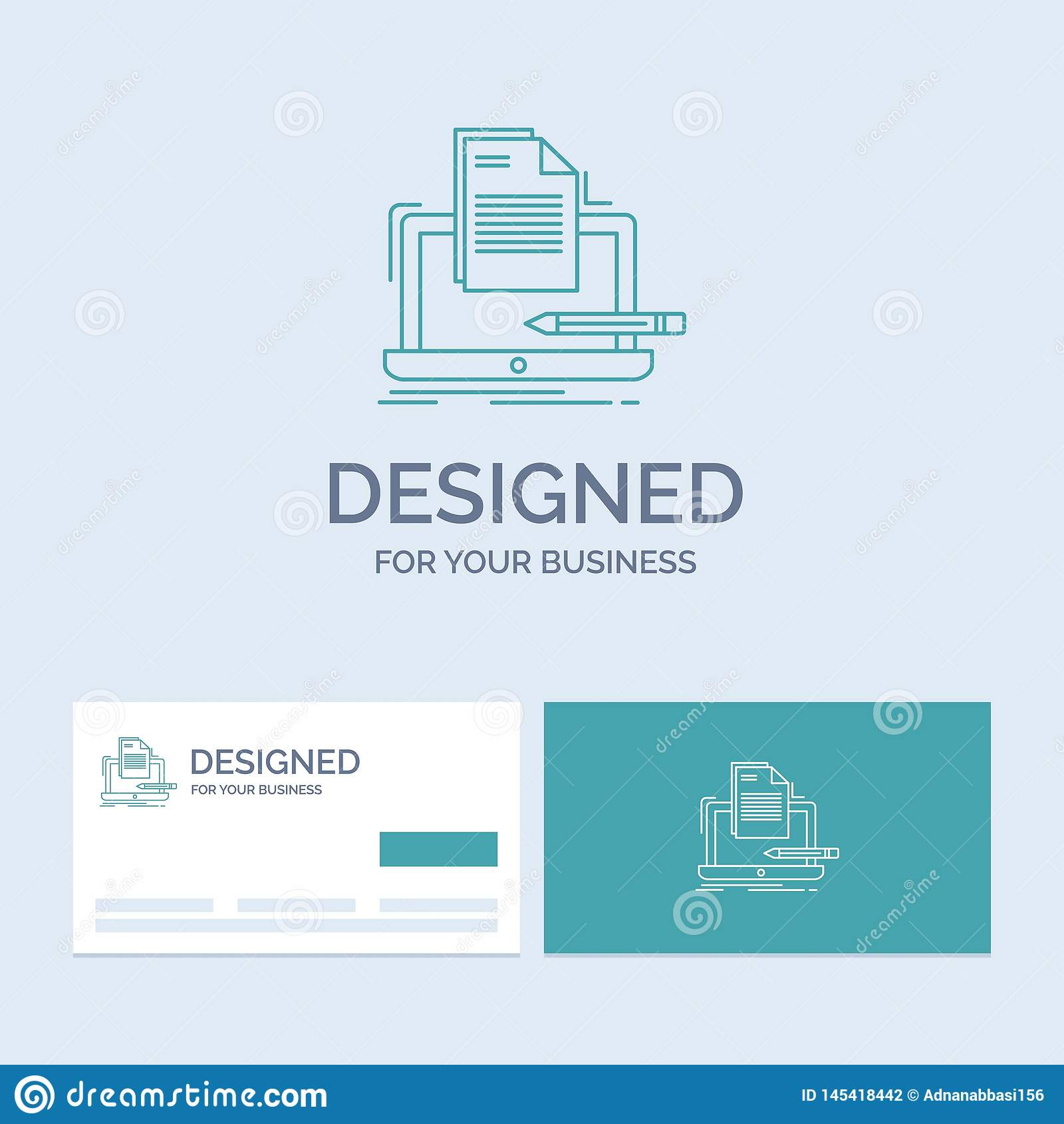 编码人,编制程序,计算机,名单,纸企业商标线您的事务的象标志 r