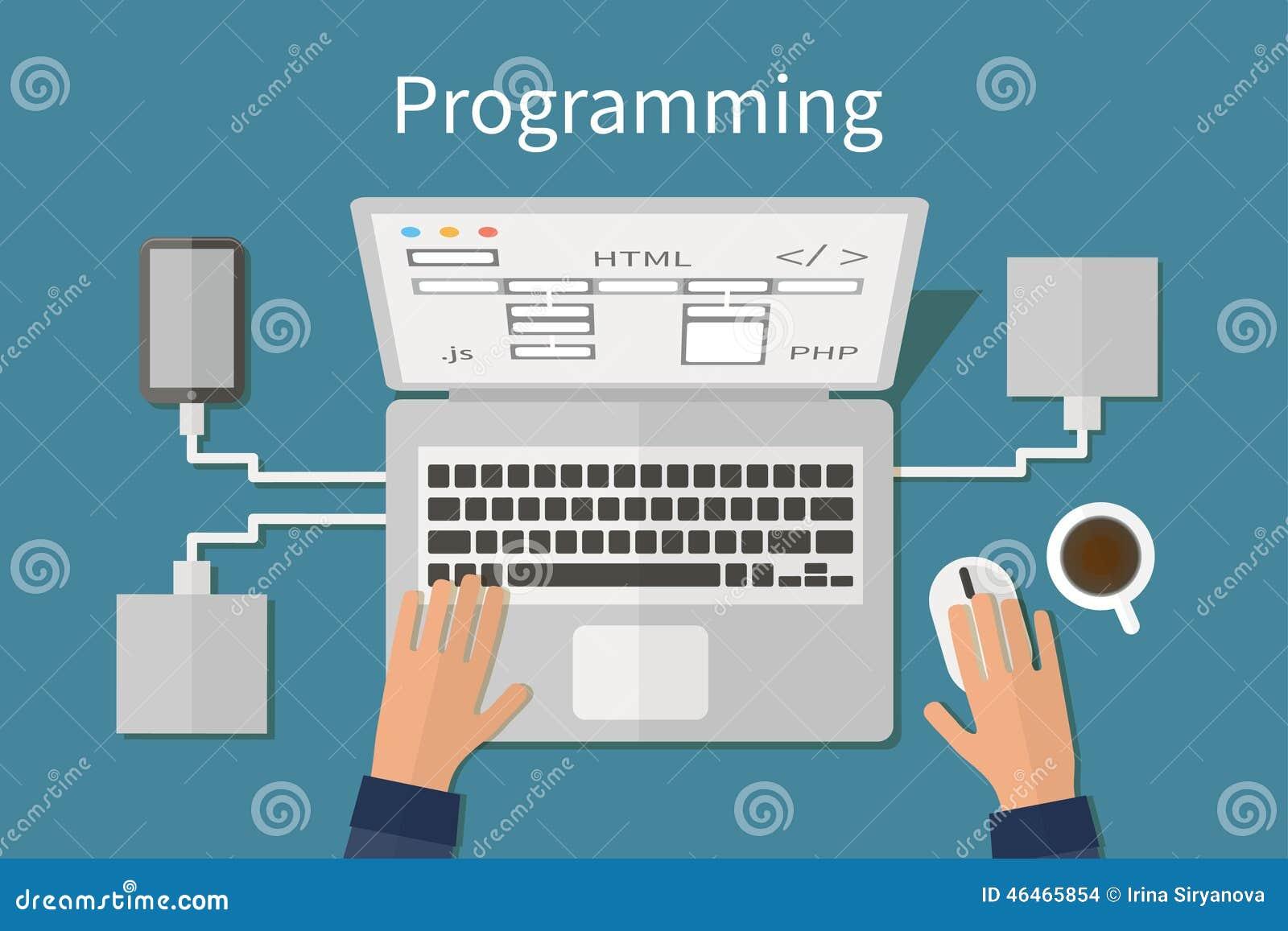 编程和编码,网站deveopment,网
