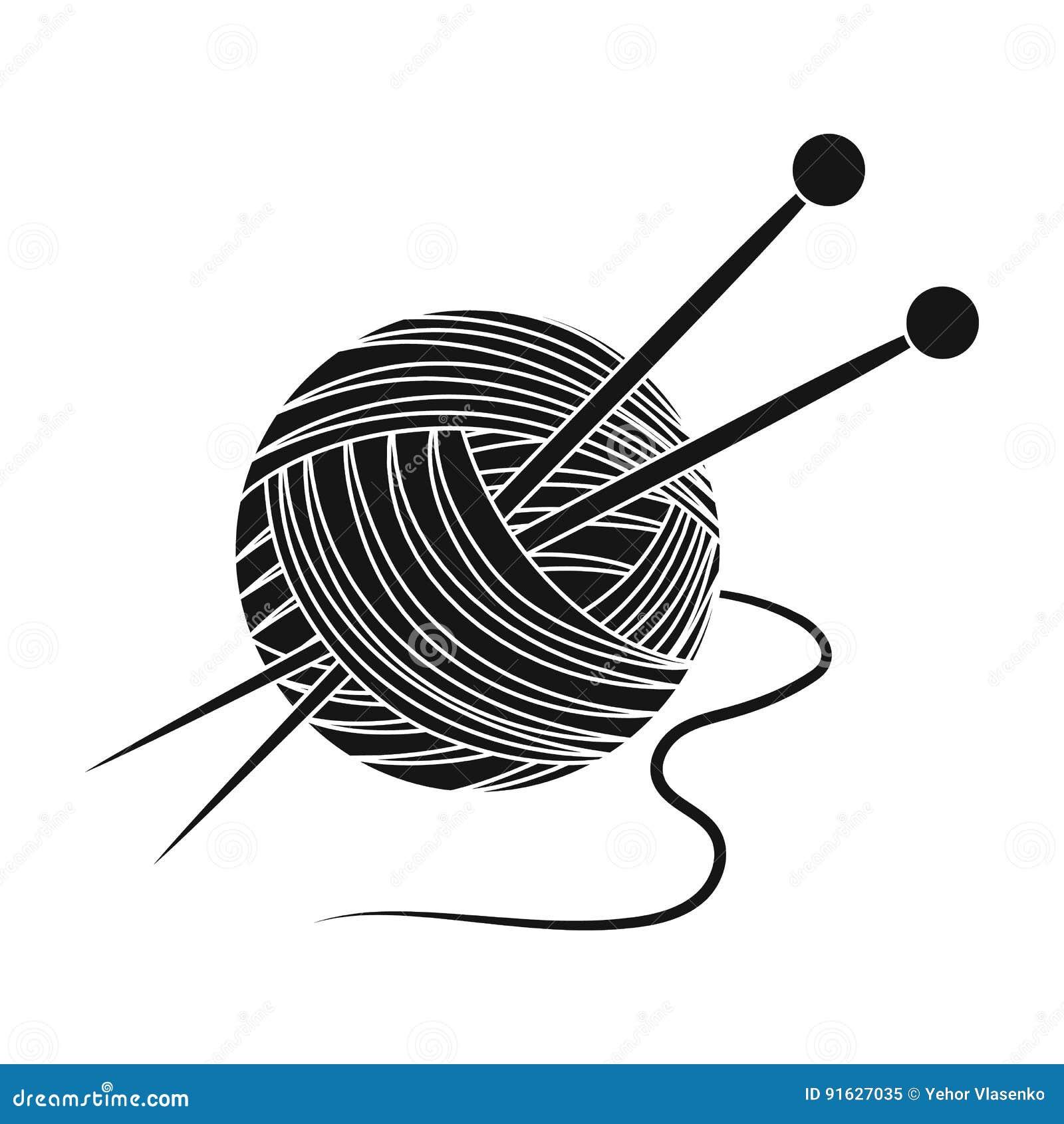 编织 在黑样式传染媒介标志股票例证网的晚年唯一象