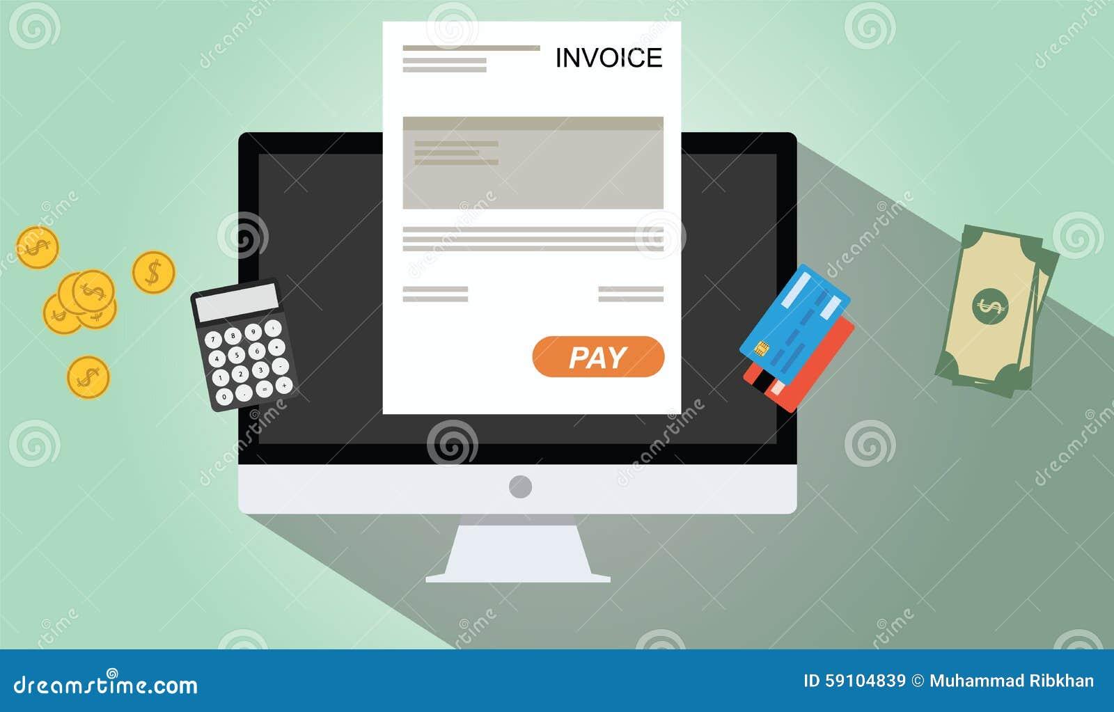 网上发货票付款