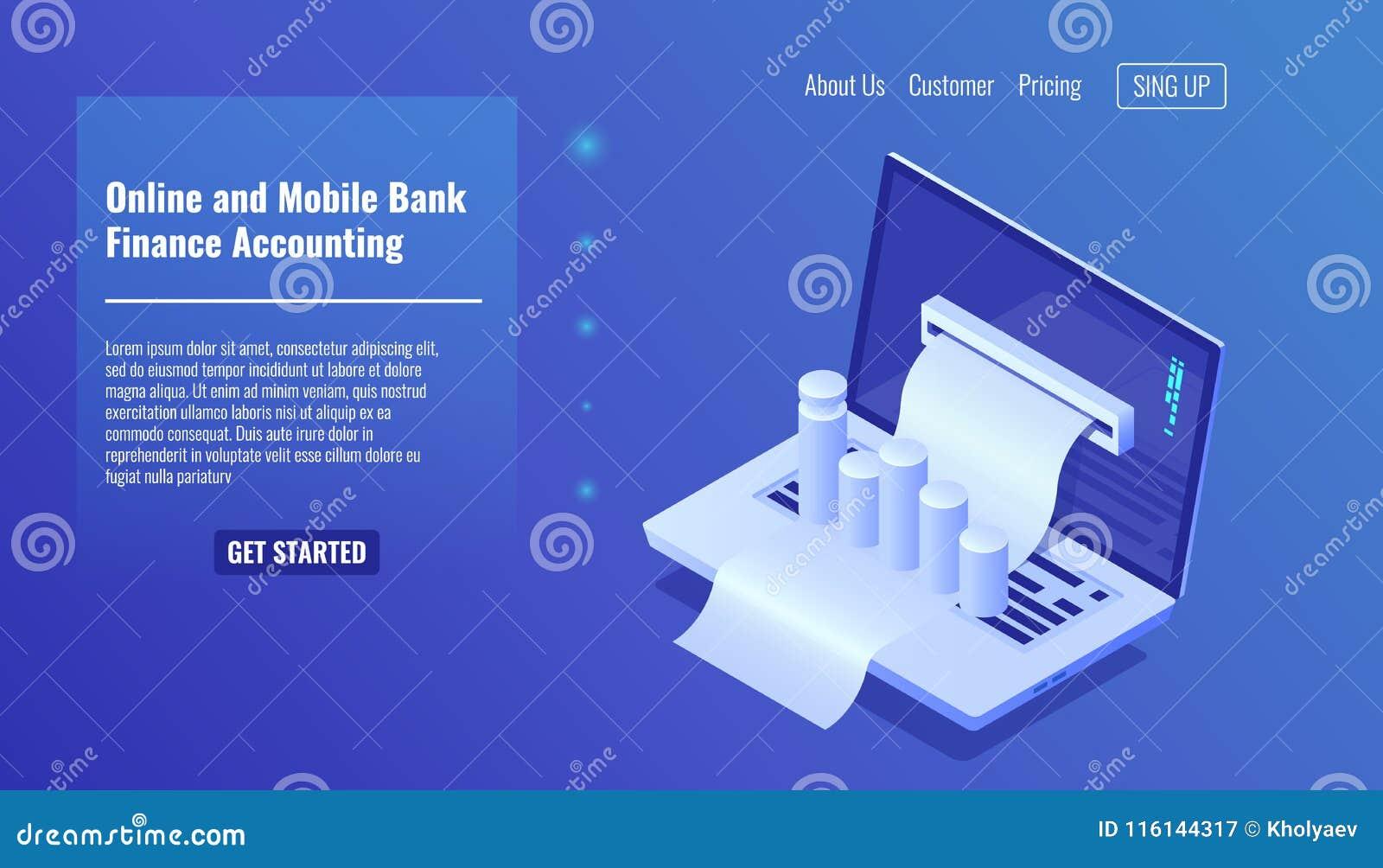网上流动银行业务概念、财务会计、业务管理和统计,预算服务的发行