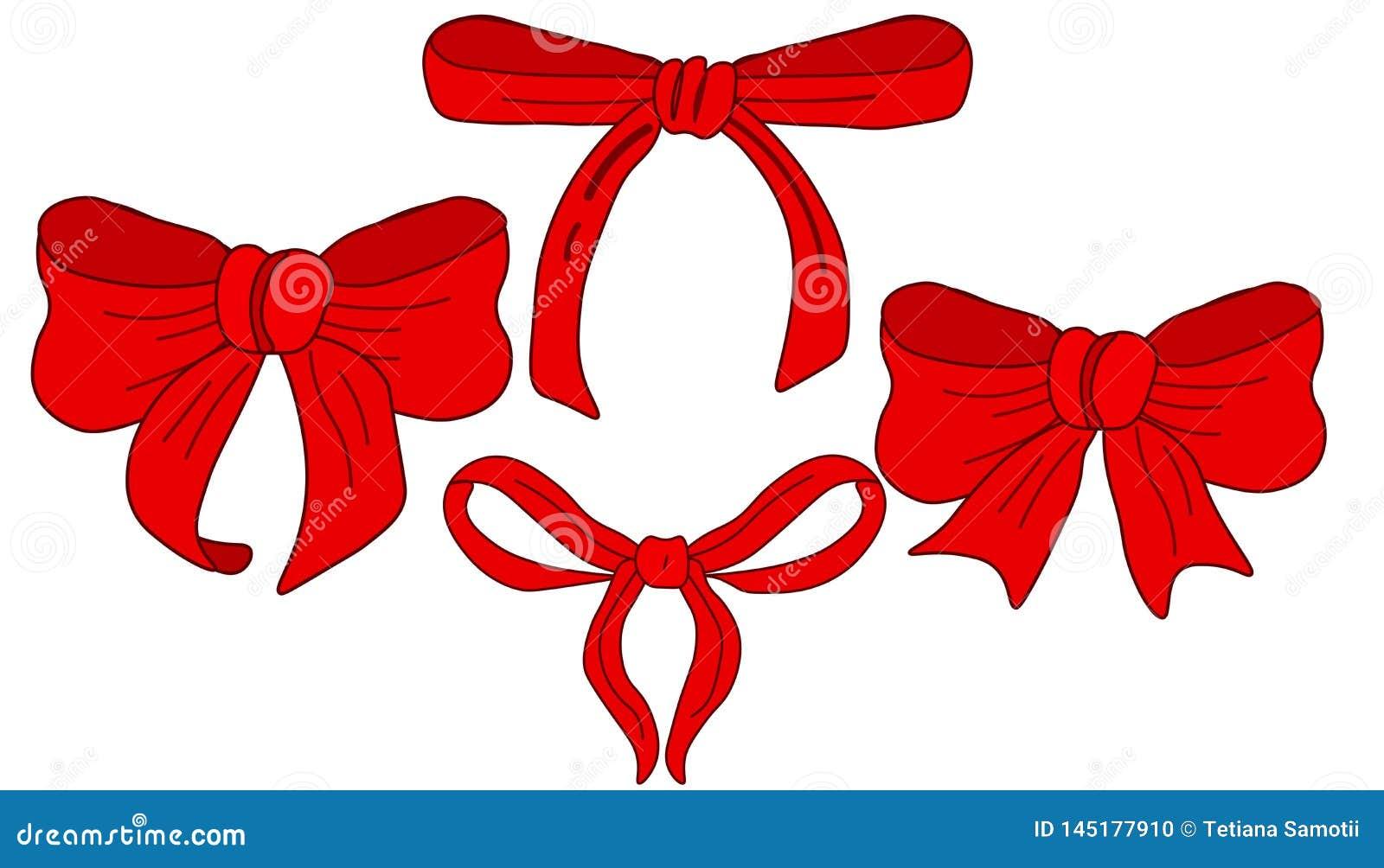 网传染媒介美好的红色丝带和集合