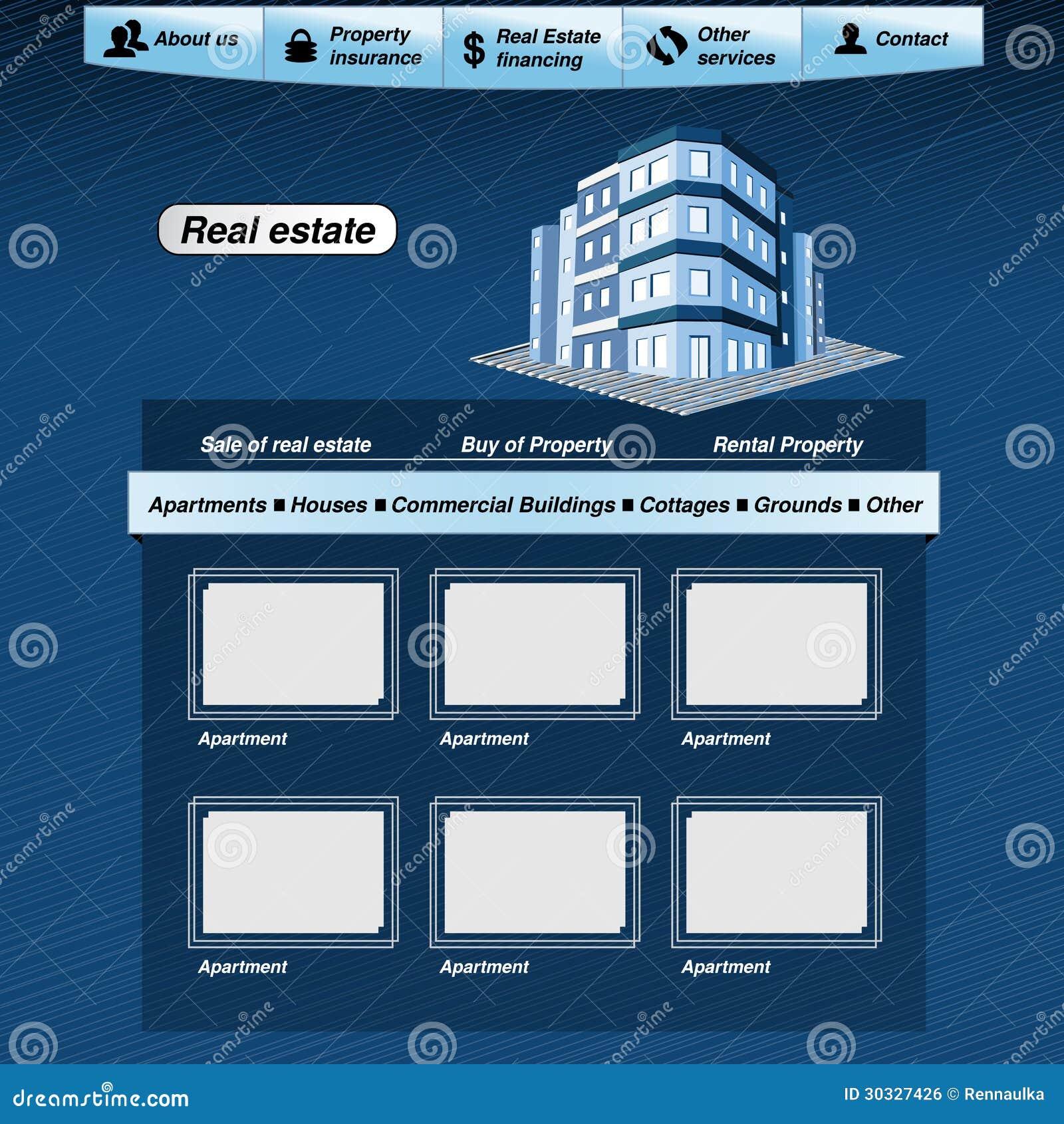 网模板,房地产webdesign提案