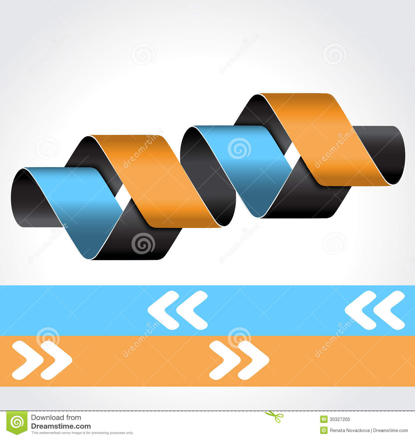 网模板- 4步,选择,横幅