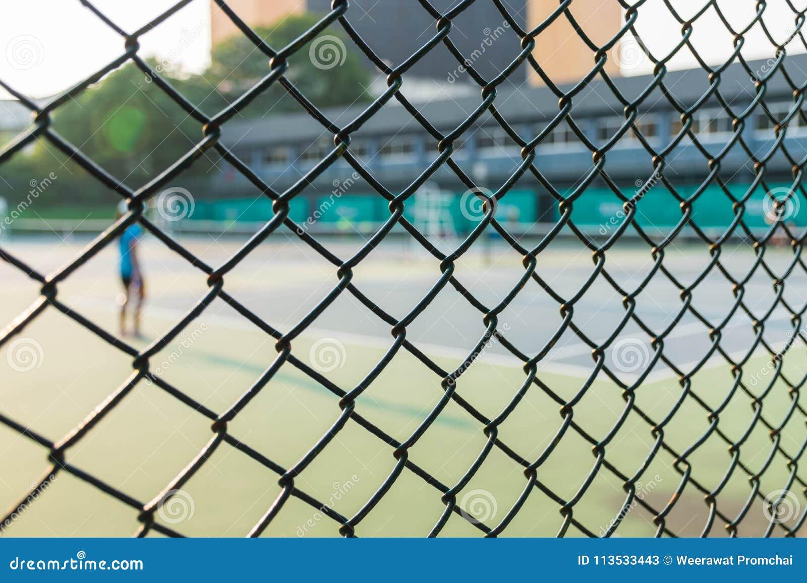 网球场的篱芭