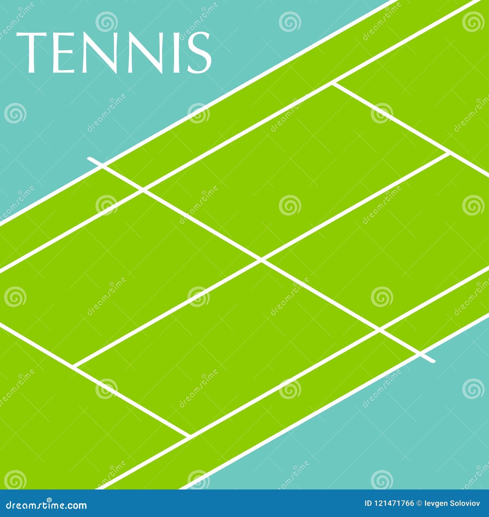 网球场背景
