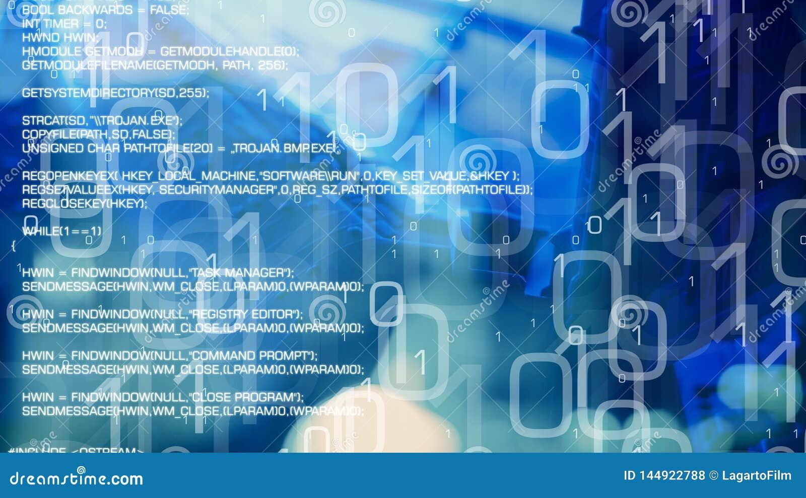 网络安全,使用二进制马胃蝇蛆的银行cyberattack