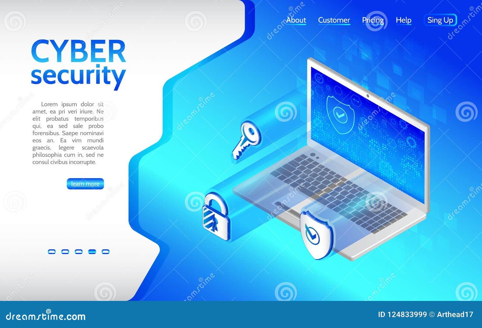 网络罪行和数据保护背景与膝上型计算机