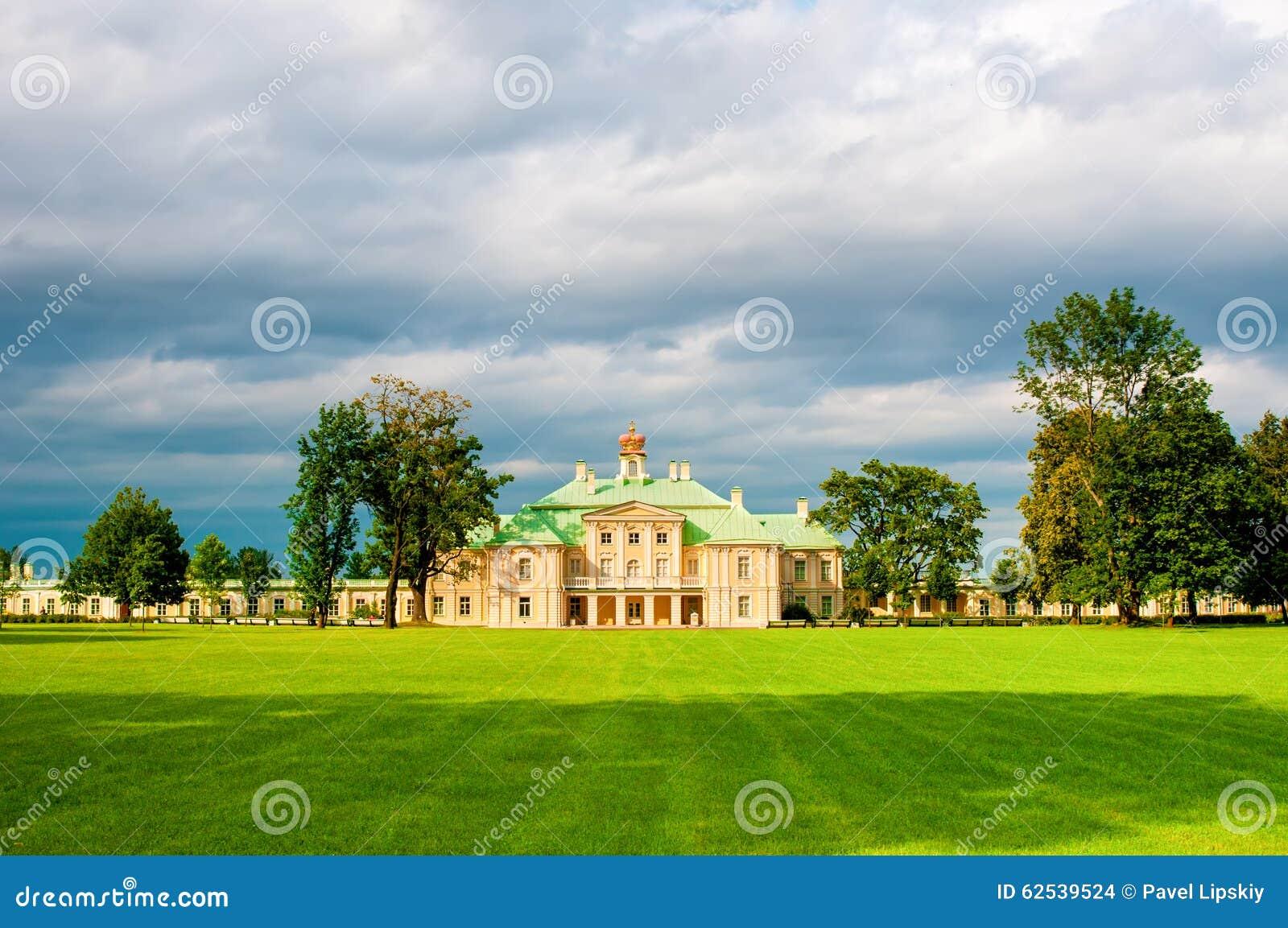 罗蒙诺索夫,俄罗斯- 2014年7月25日:Menshikov盛大宫殿, Pa的