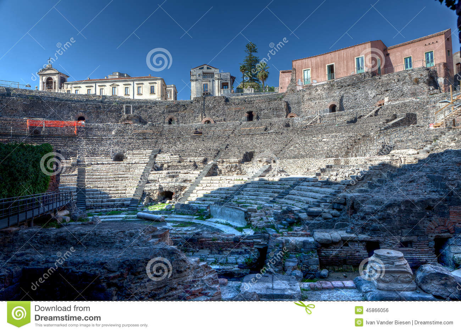 罗马剧院,卡塔尼亚,西西里岛,意大利