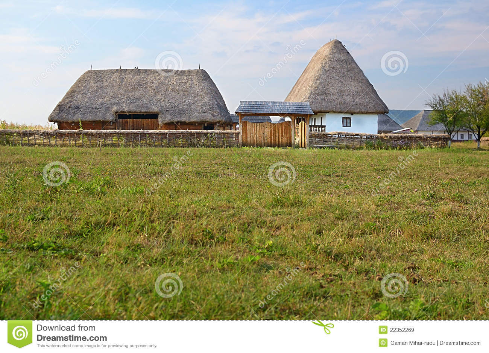 罗马尼亚传统村庄
