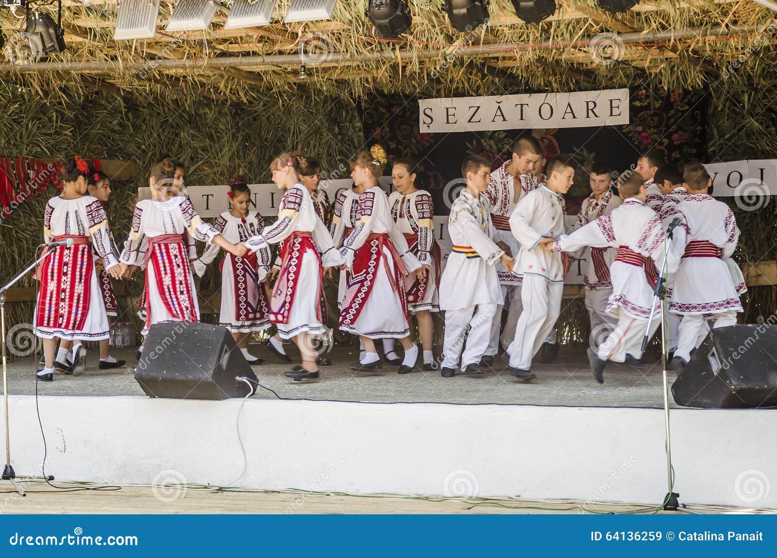 罗马尼亚传统舞蹈