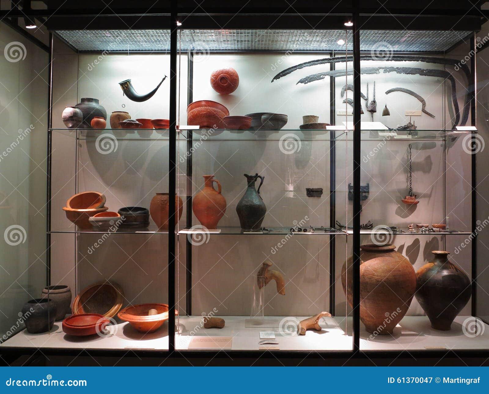 罗马瓦器和工具展览