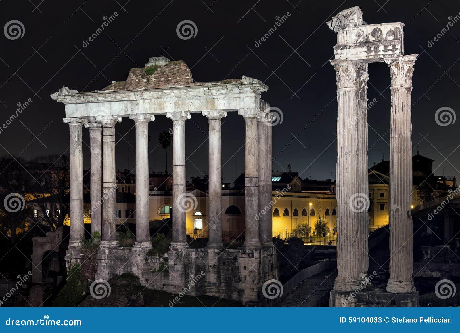 罗马论坛在夜之前
