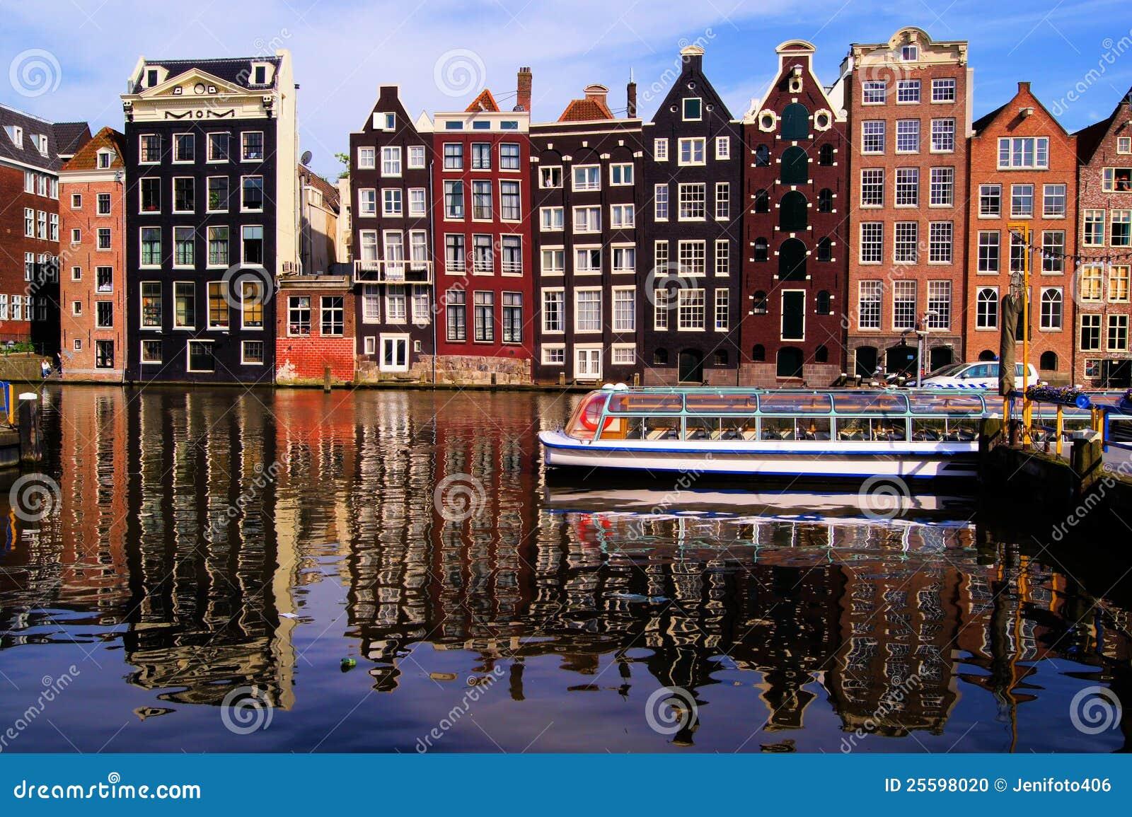 美丽如画的阿姆斯特丹