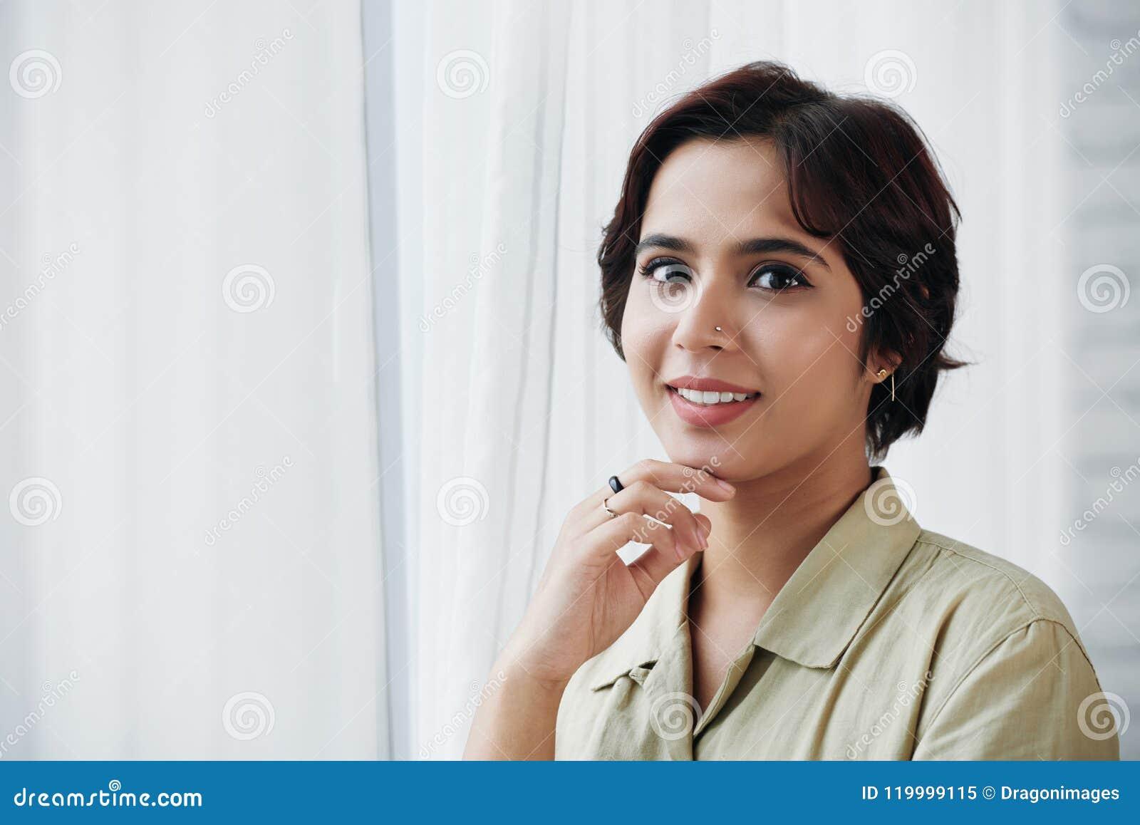 美丽的印第安妇女