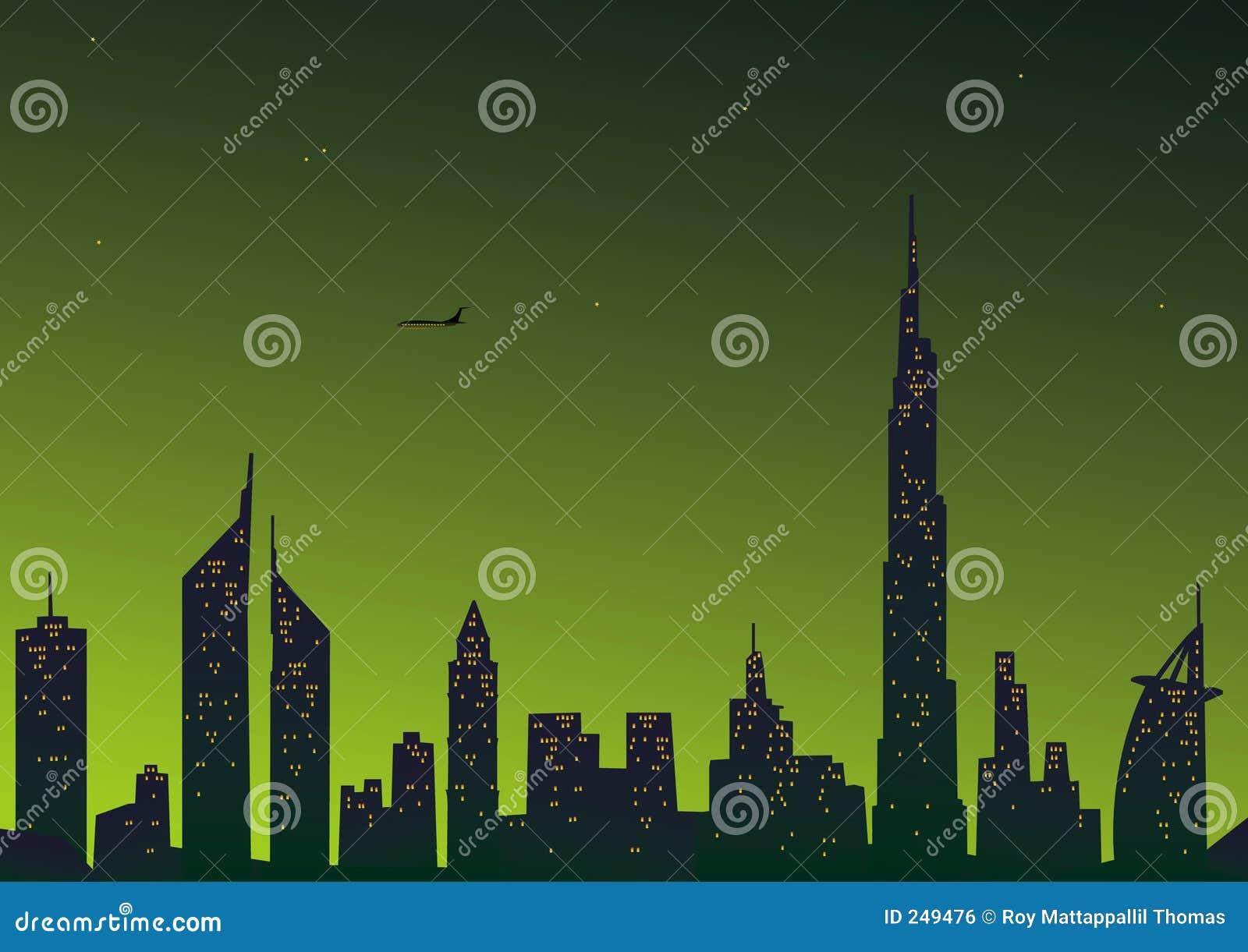美丽的城市迪拜