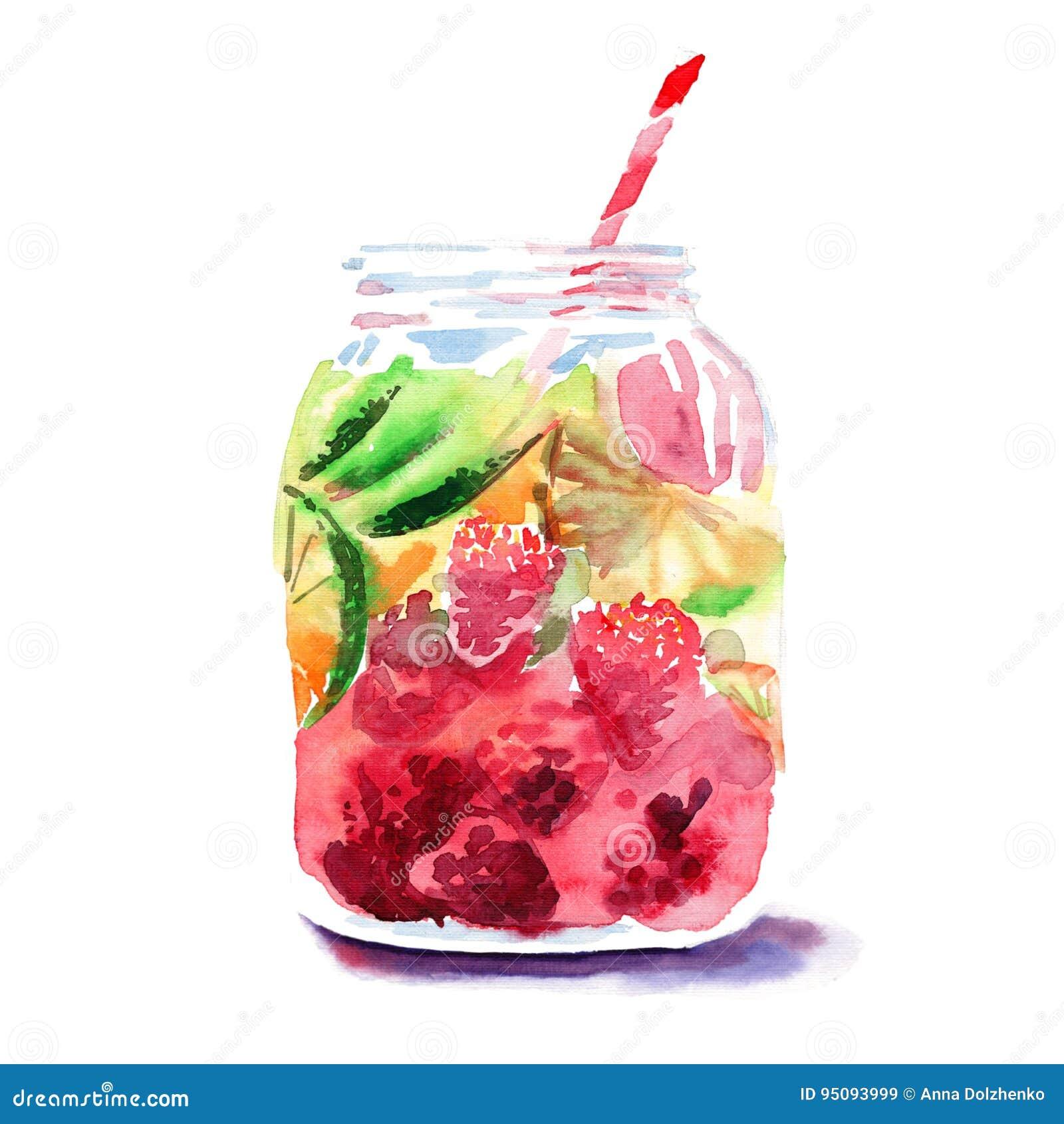 美丽的明亮的新鲜的鲜美水多的可口可爱的逗人喜爱的五颜六色的戒毒所银行用红色桑树、成熟绿色石灰和桔子和