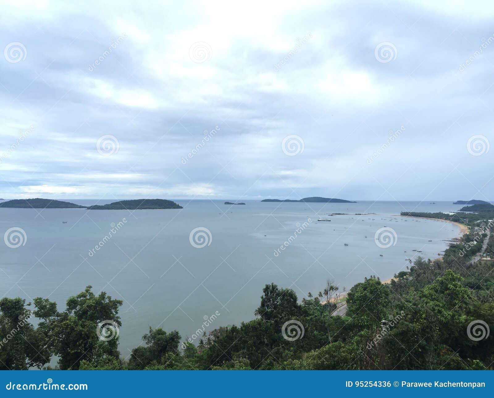 美丽的海滩泰国