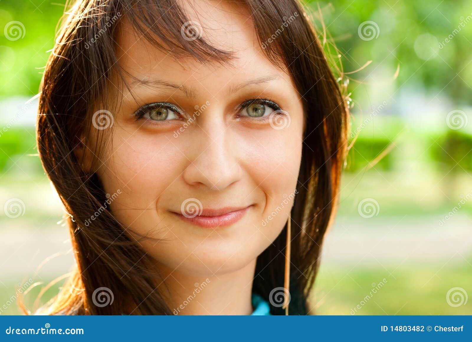 美丽的特写镜头表面妇女