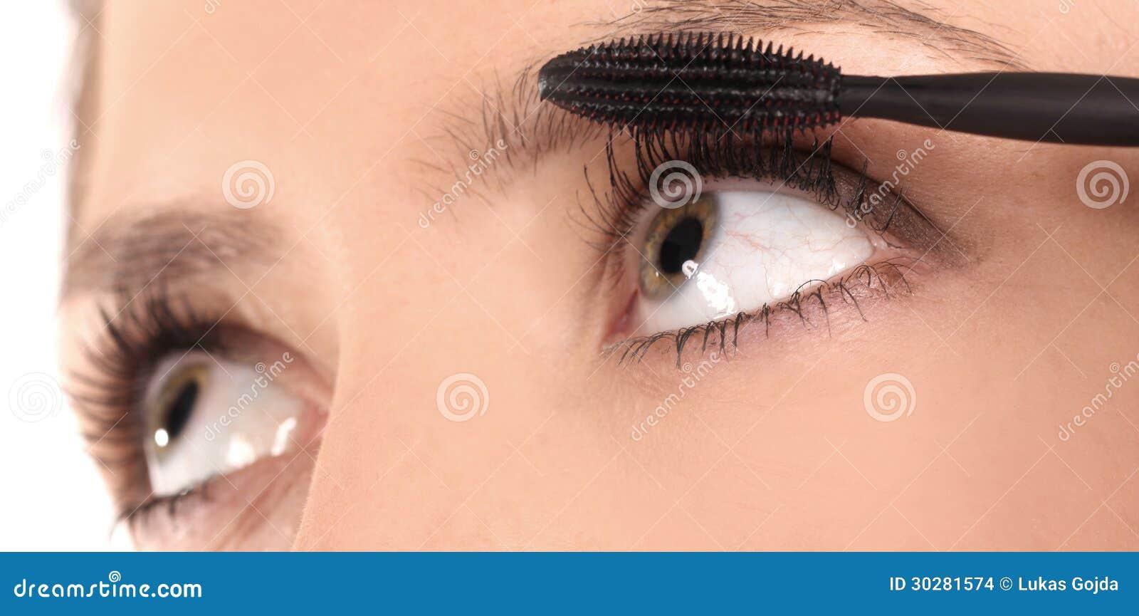 美好的眼睛构成