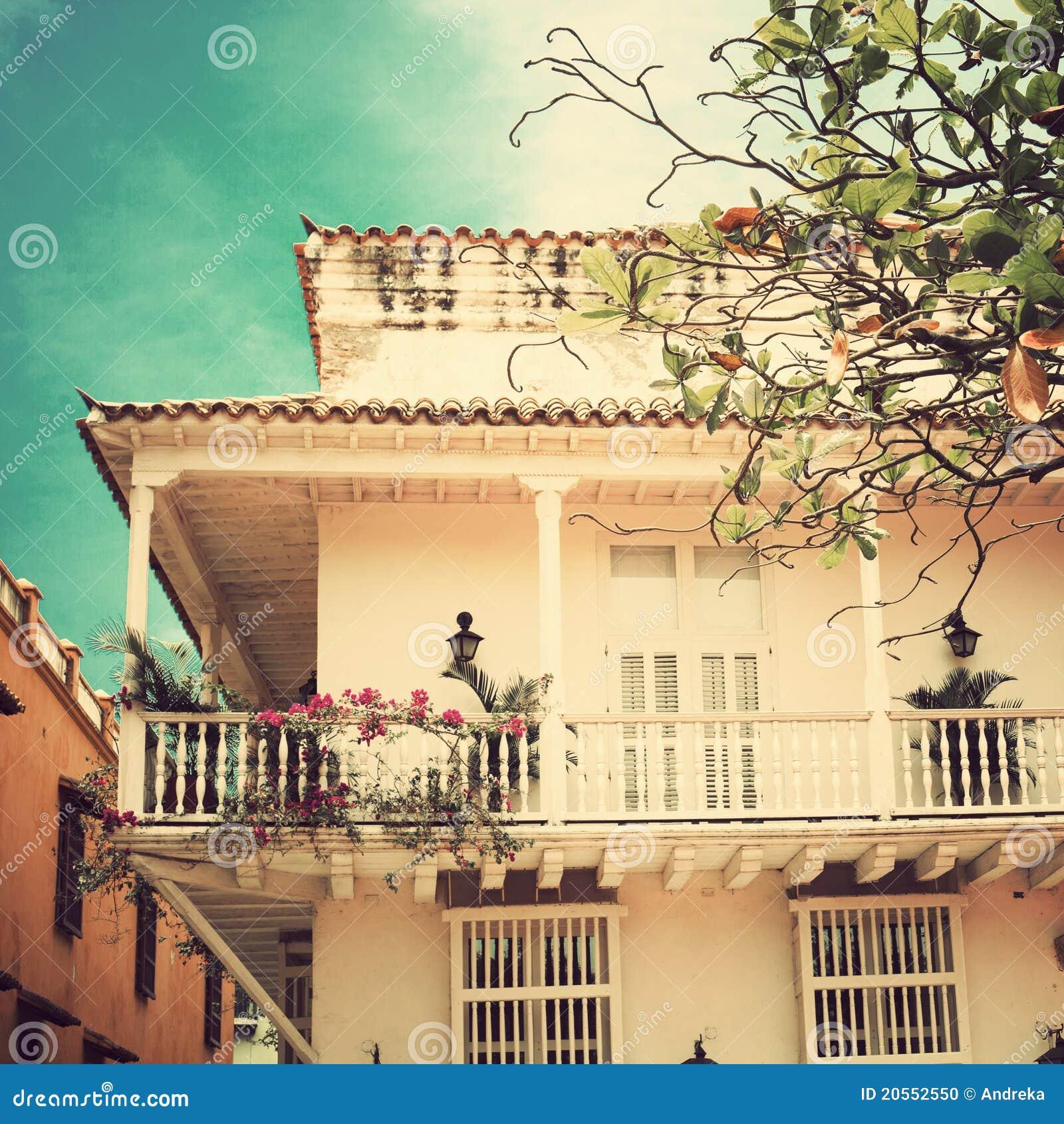 美丽的阳台
