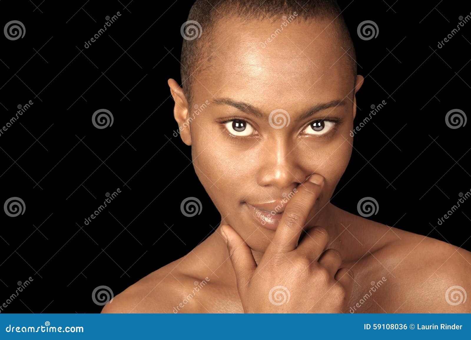 美丽的黑人妇女