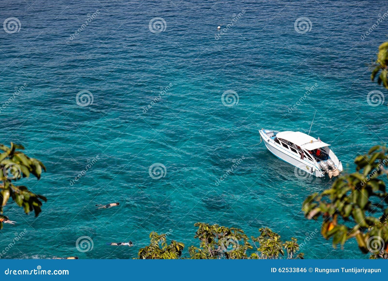 美丽的Similan海岛