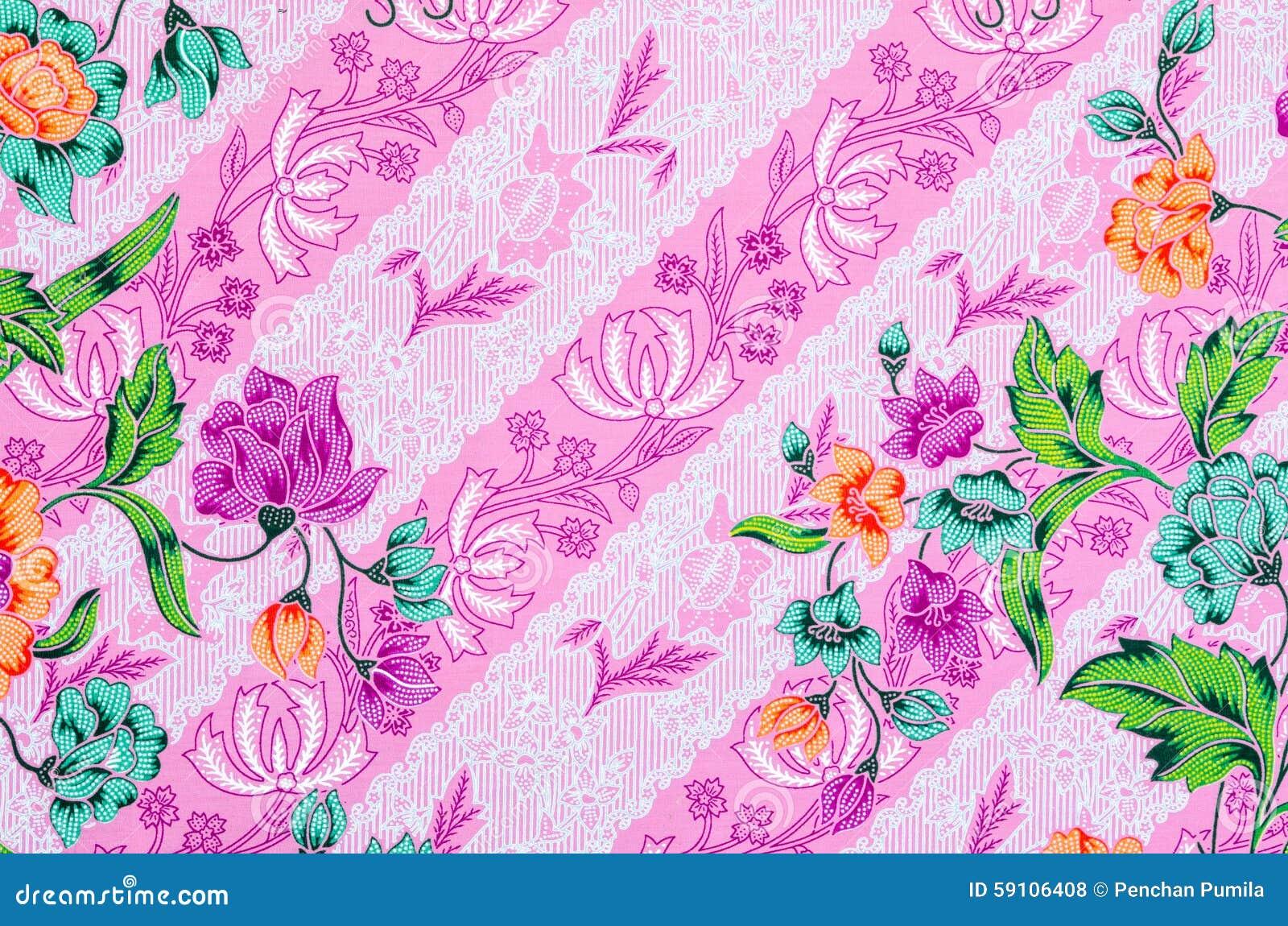 美丽艺术蜡染布样式