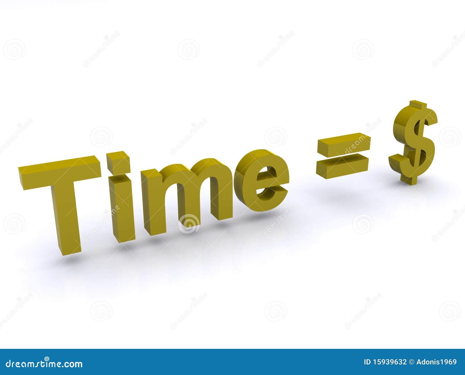美元等于时间
