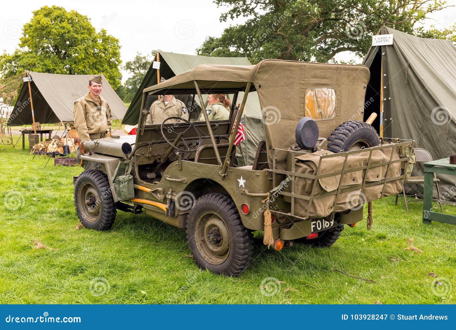 美国军队威力斯MB吉普WWII