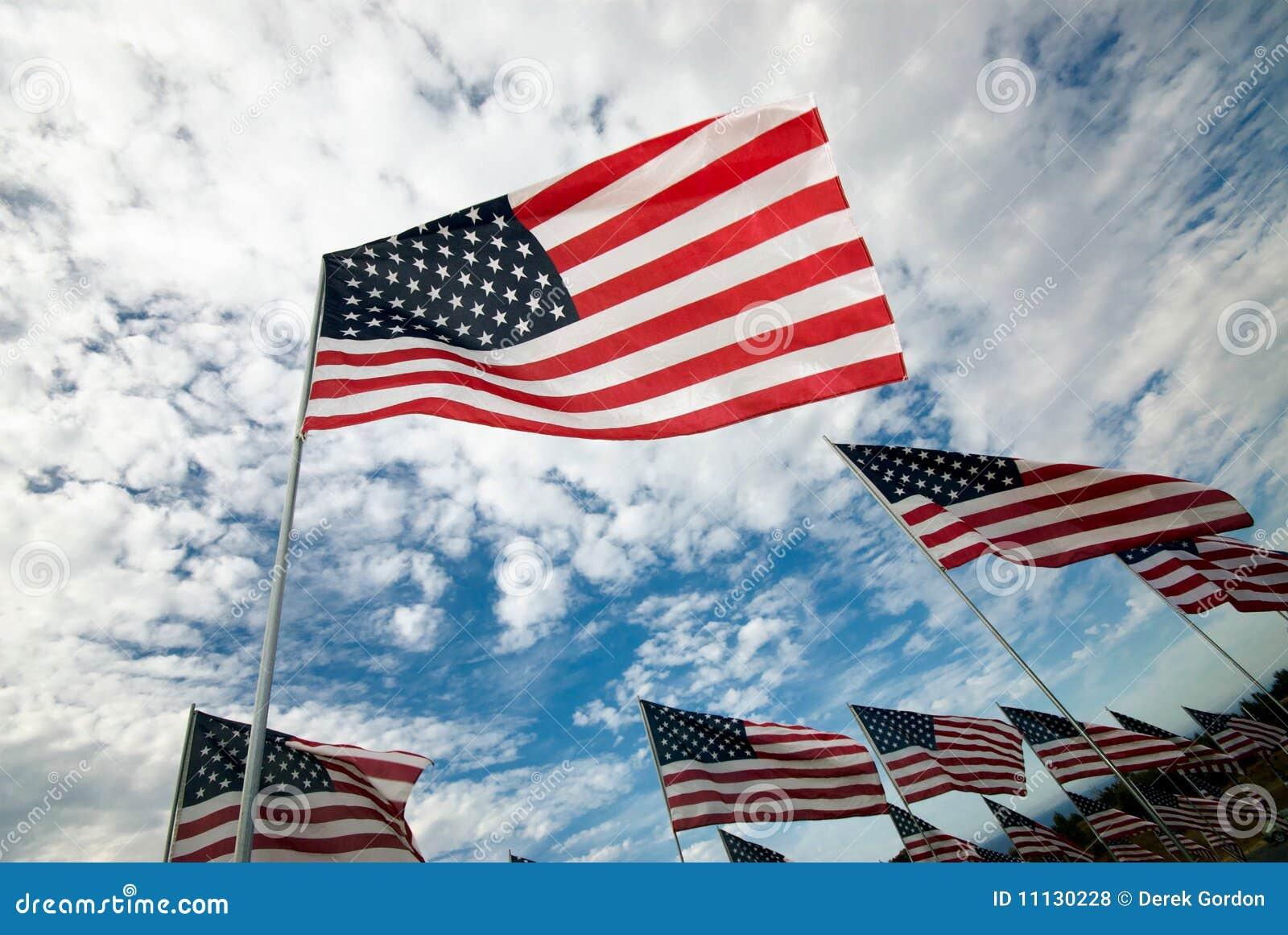 美国国旗行