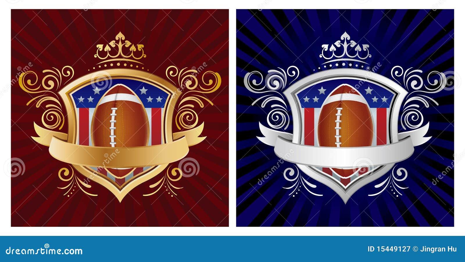 美国橄榄球盾