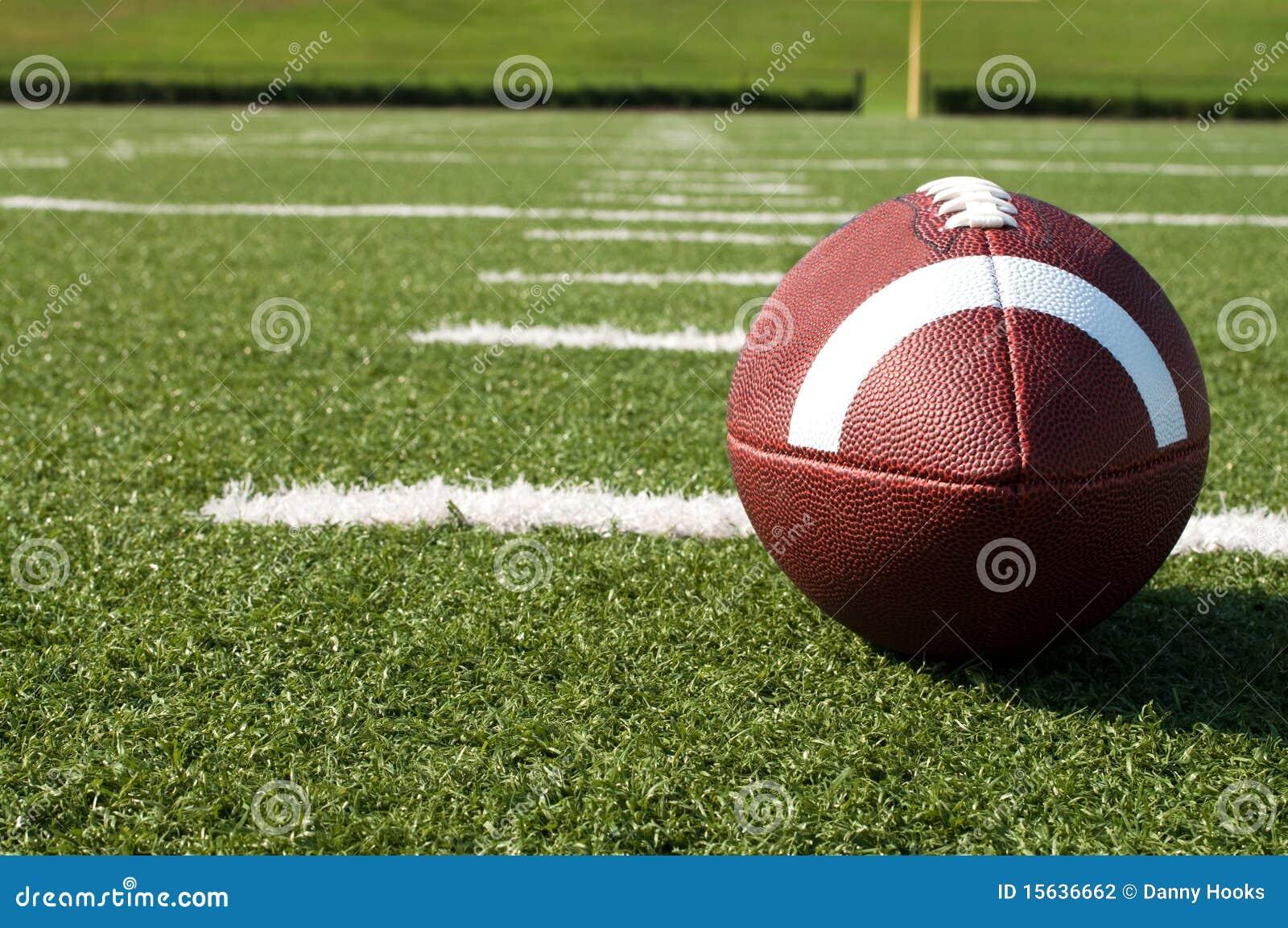 美国特写镜头领域橄榄球