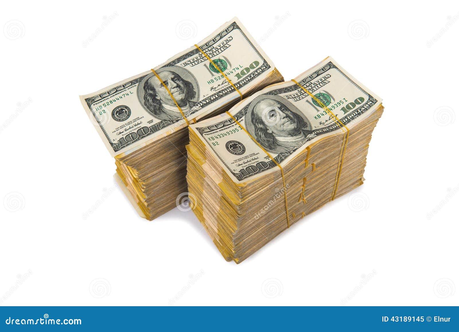 美国美元堆