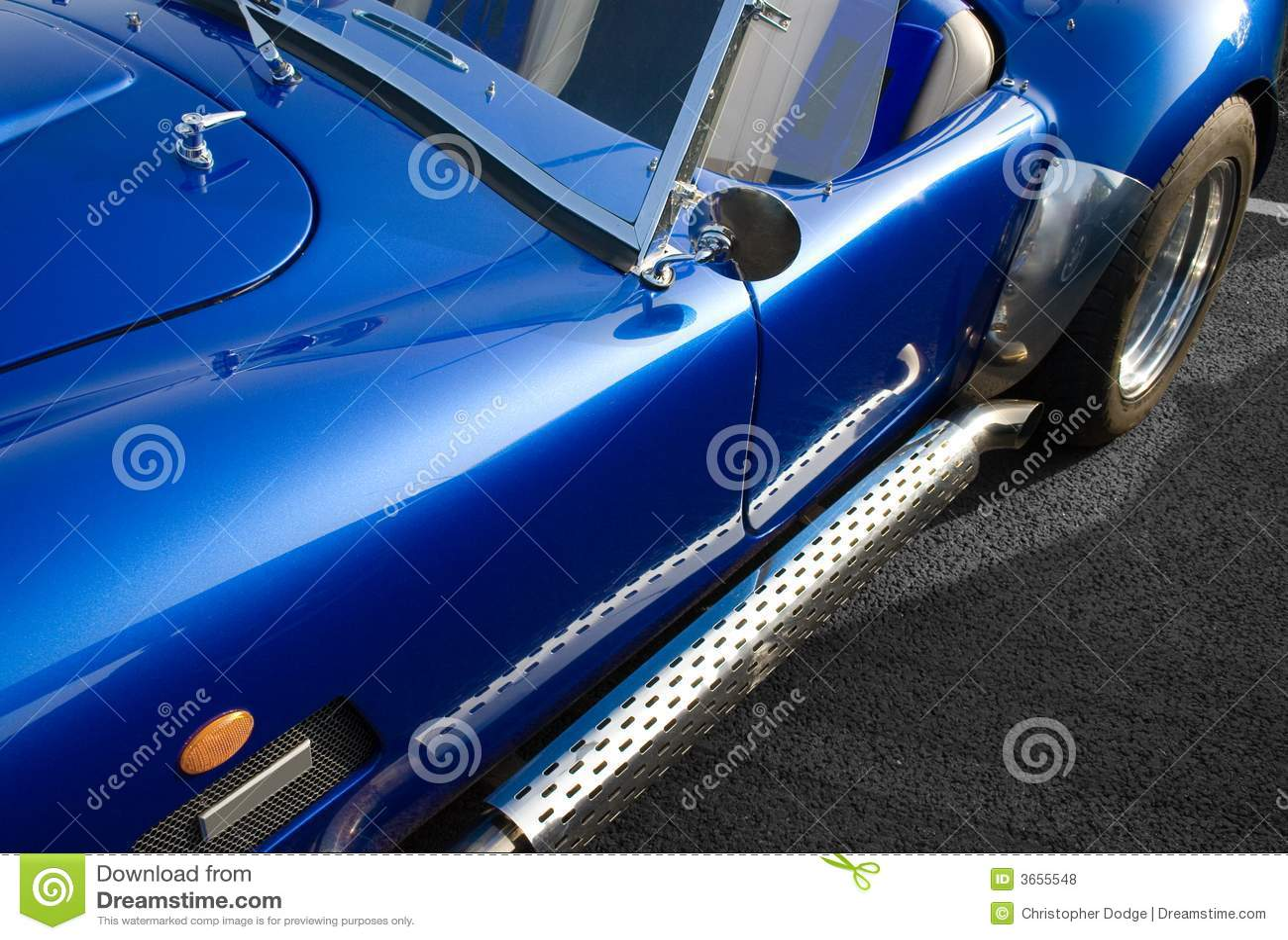 美国蓝色汽车经典之作肌肉