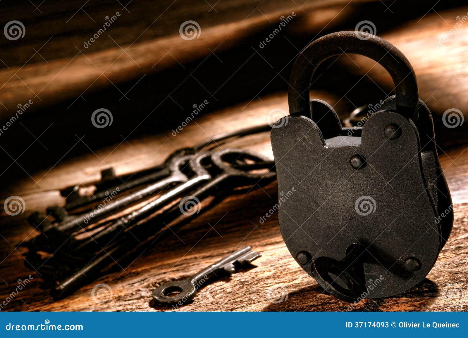 美国西部监狱锁和西部监狱钥匙