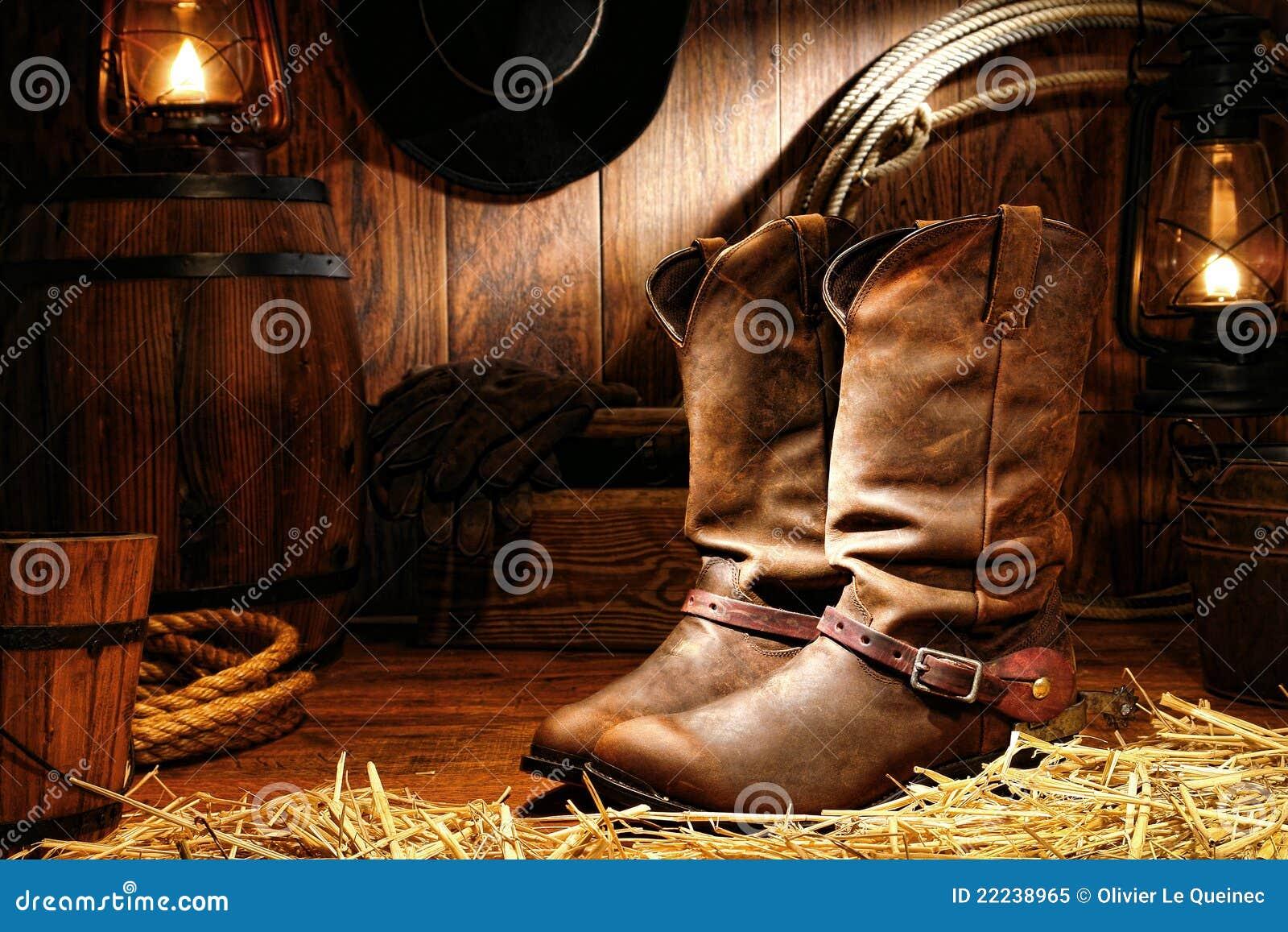 美国谷仓启动牛仔大农场圈地西部