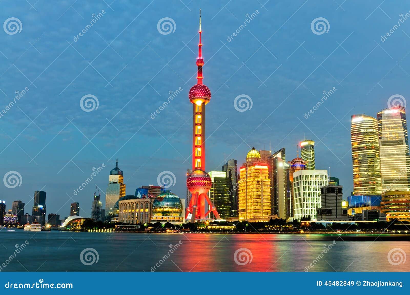 美好的上海市夜