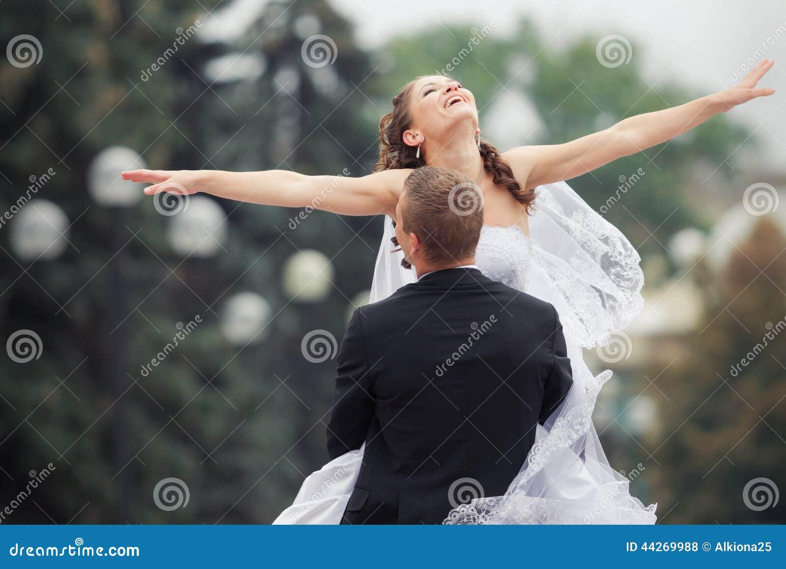 美好的夫妇婚礼