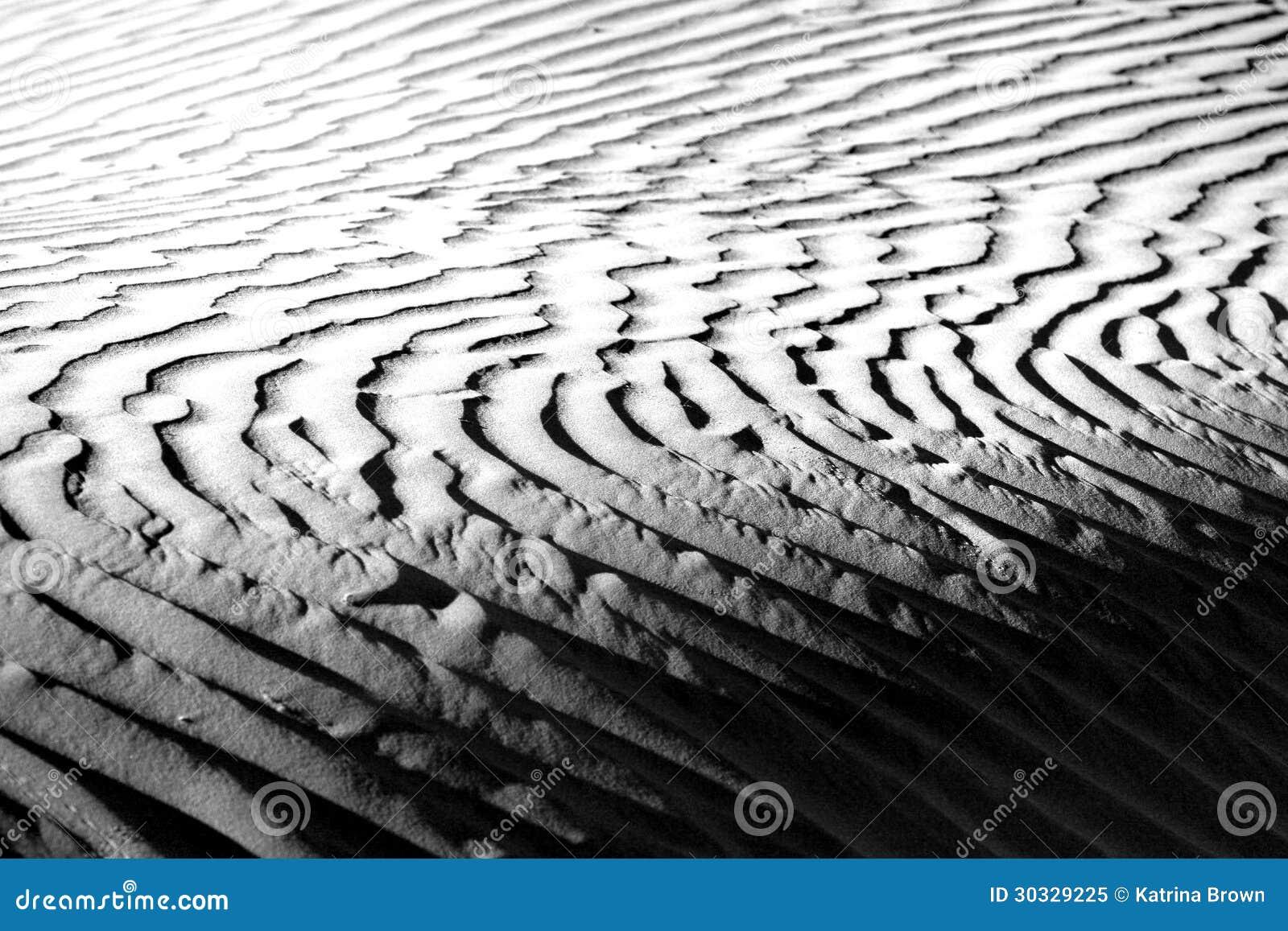 美好的沙丘形成在死亡谷加利福尼亚