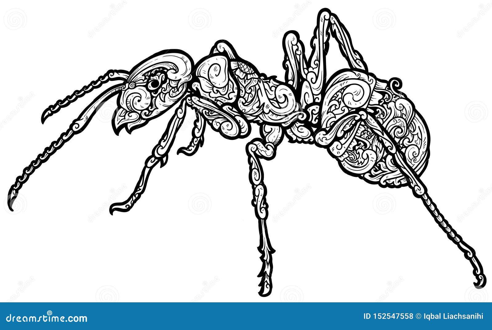 美好的蚂蚁装饰品wezz