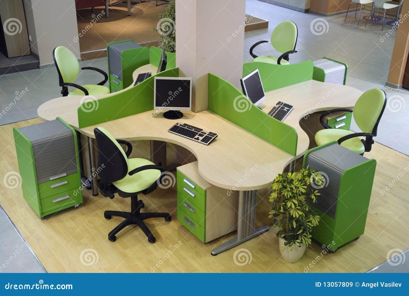 美好的设计内部现代办公室