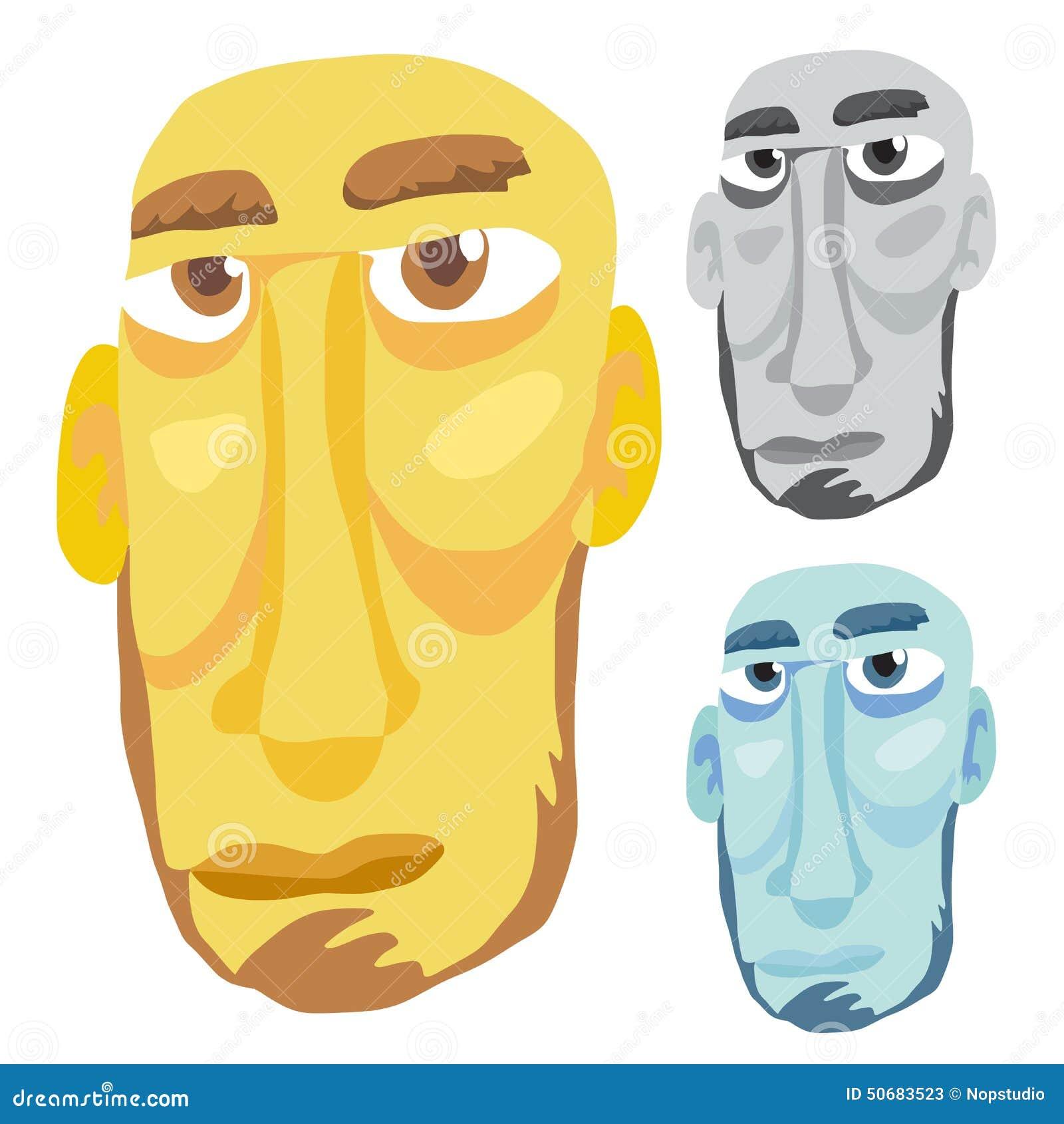 Download 老人头 向量例证. 插画 包括有 图象, 黄色, 颜色, 向量, 眼睛, 哀伤, 艺术, 被恫吓的, 蓝色 - 50683523