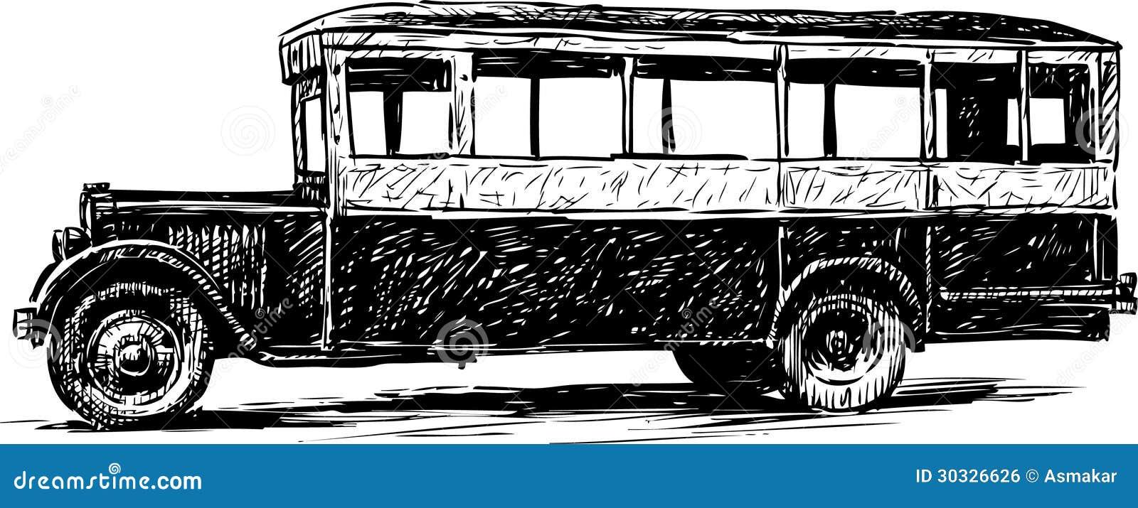 老公共汽车