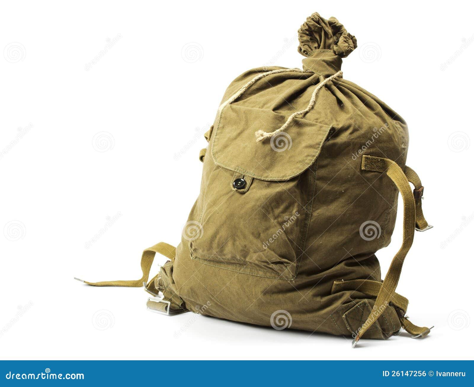 老军事行李袋