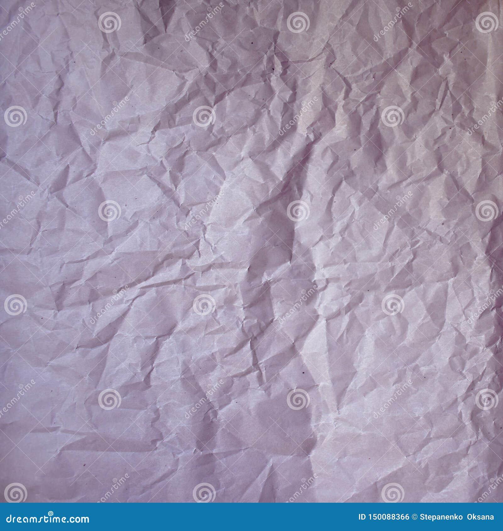 老压皱纸葡萄酒纹理 粗砺的起皱纹的桃红色紫色颜色阴影覆盖 与拷贝的织地不很细难看的东西背景